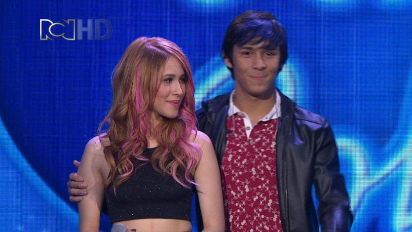 Daniela y Jhon están en riesgo de salir de 'Idol Colombia'