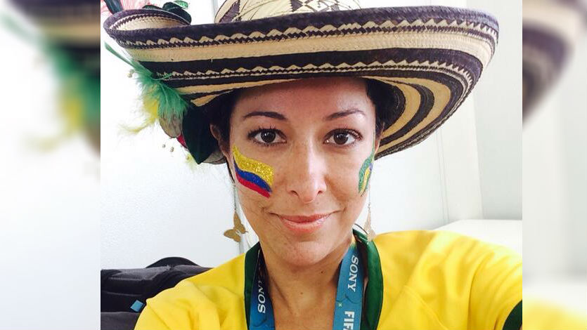 Flavia Dos Santos víctima de bullying porque Brasil le ganó a Colombia