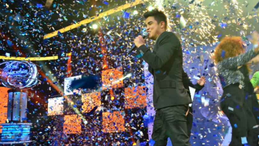 Luis Angel Racini es el ganador del primer Idol Colombia