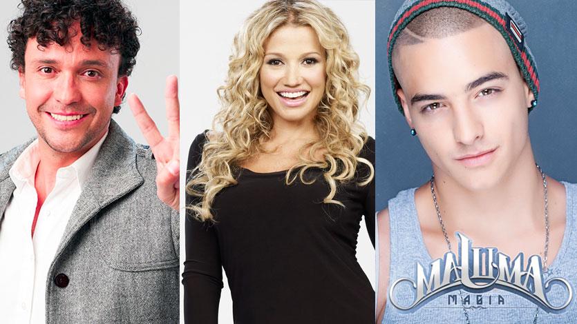 Maluma, Fanny Lu y Andrés Cepeda jurados en 'La Voz Kids'