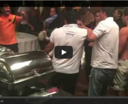 Carolina Guerra, Manolo Cardona y Yamid Amat protagonizan pelea en Brasil