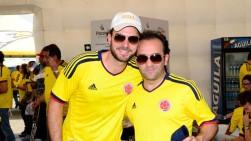 Manolo Cardona y Yamid Amat Serna se disculpan por pelea en Brasil