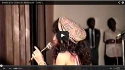 Revelan video de Shakira cantando a los 12 años en Barranquilla