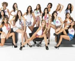 Siete colombianas entre las finalistas de 'Chica HTV 2014'
