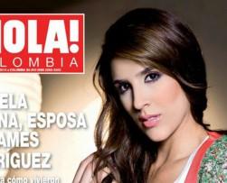 Daniela Ospina es portada de la reciente edición de la revista 'Hola'