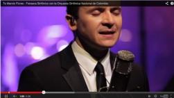 Fonseca lanza nueva versión de la canción 'Te mando flores'
