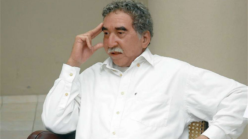 Develan figura en cera de Gabriel García Márquez en Cuba