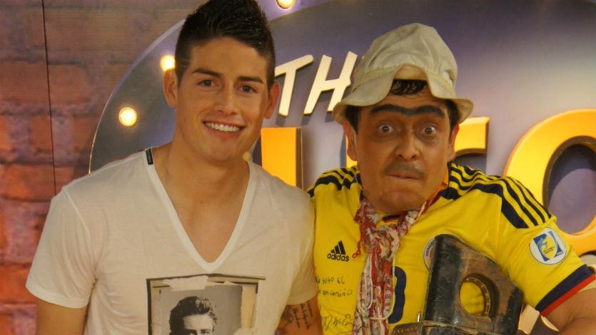 Canal RCN emitirá especial de The Suso's Show con James