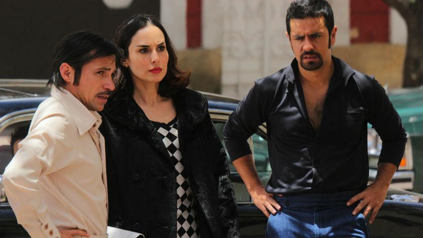 Personajes de la novela 'La Viuda Negra' del Canal Caracol