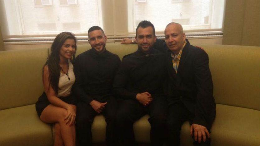 Oscar Mejía de PDNT se casó con su novio en Estados Unidos