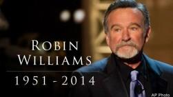 Falleció el actor estadounidense Robin Williams a los 63 años