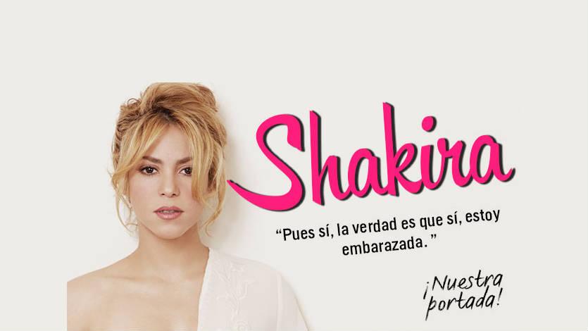 Shakira confirmó que sí está embarazada