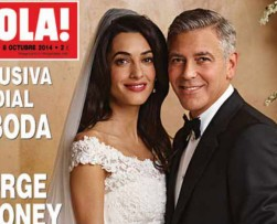 Revelan las primeras fotos del matrimonio de George Clooney