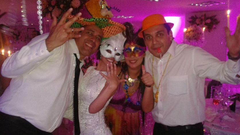 Jessica Sanjuán se casó por tercera vez con Marcos Mafioly