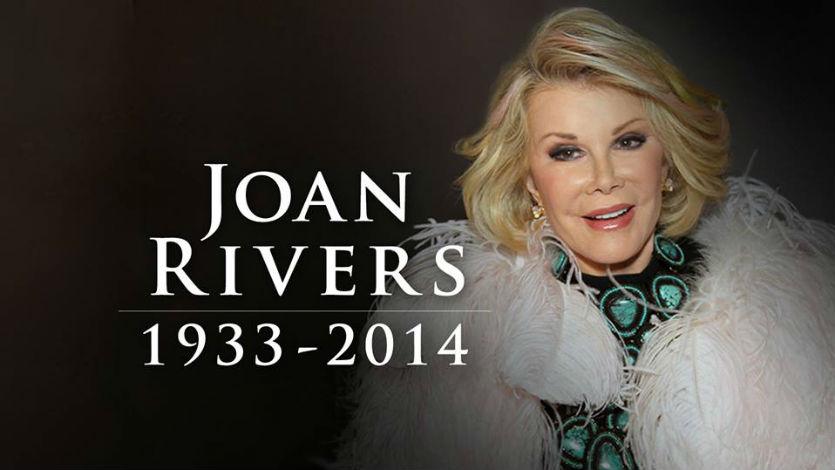 Falleció la presentadora estadounidense Joan Rivers