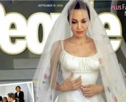 Revelan las primeras fotos del matrimonio de Angelina y Brad Pitt