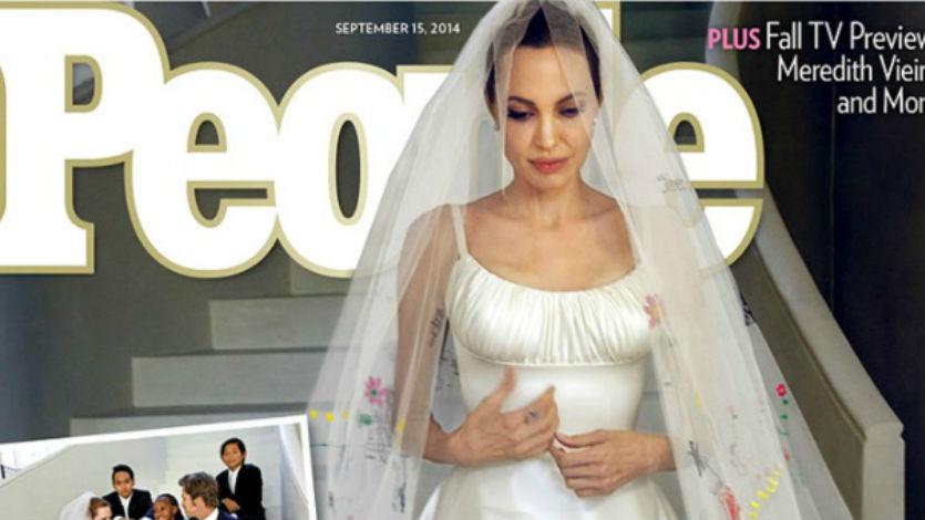 Fotos del matrimonio de Angelina Jolie y Brad Pitt