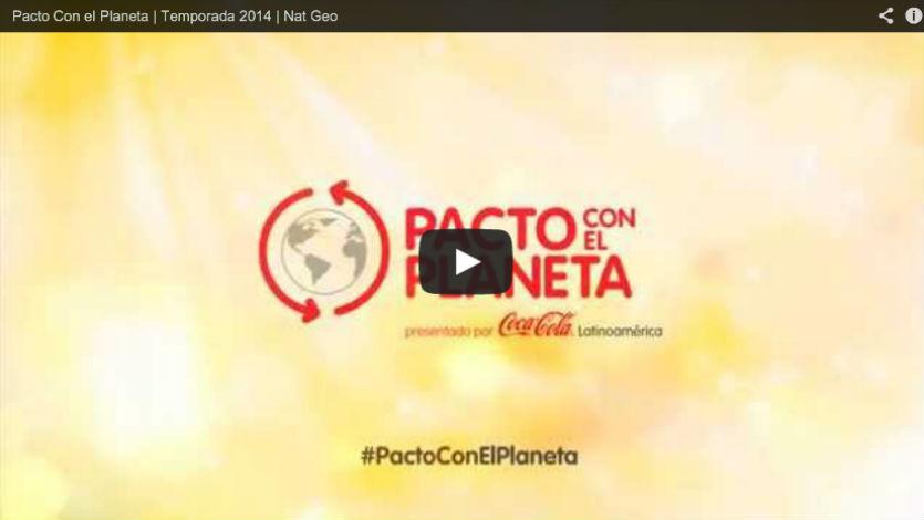 Nat Geo y Coca-Cola estrenan 'Pacto por el Planeta'