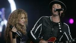 Shakira lamenta la muerte del cantante argentino Gustavo Cerati