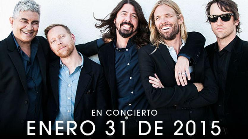 Precio de las boletas para concierto de Foo Fighters en Bogotá