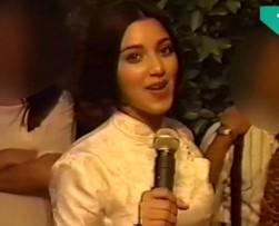 Revelan video casero de Kim Kardashian de cuando tenía 14 años