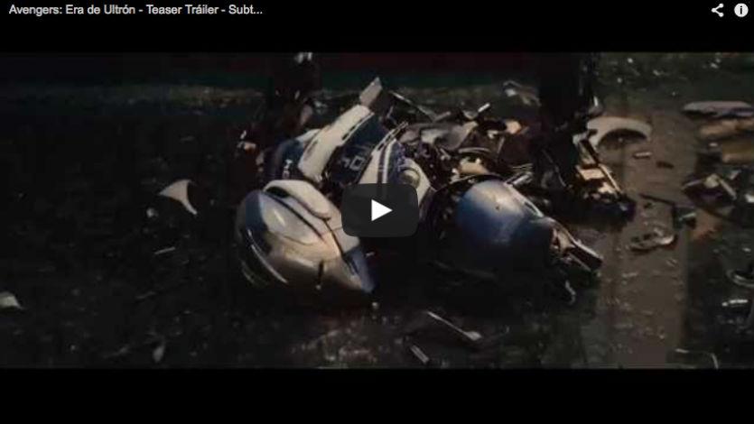 Primer adelanto del film 'Los vengadores, la era de Ultrón'