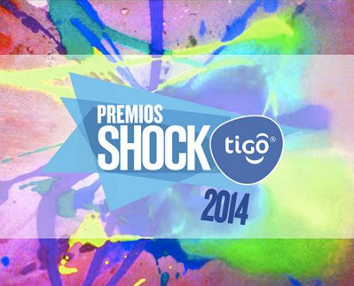 Cantantes nominados a los Premios Shock 2014