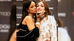 Natalia Betancourt conoció a la cantante Rihanna en Estados Unidos