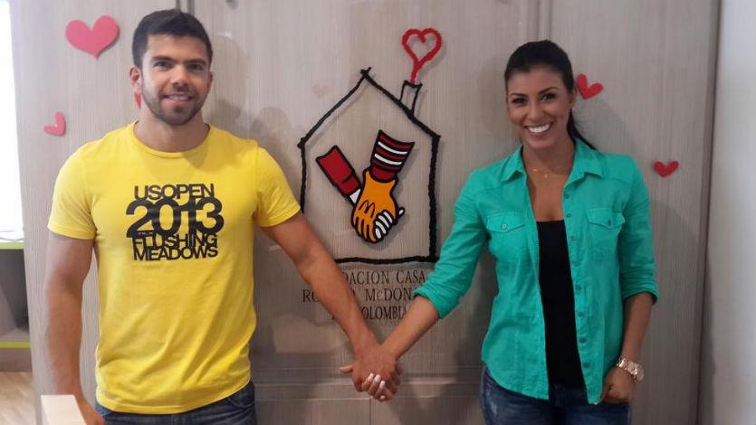 Rosa Caiafa y David Henao estarían iniciando una relación sentimental