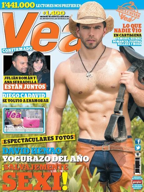David Henao portada Revista VEA