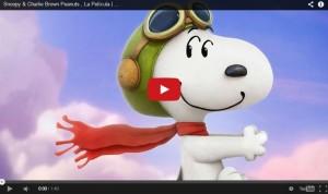 Revelan el primer tráiler de 'Snoopy y Charlie Brown Peanuts'