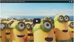 Universal Pictures revela primer trailer de 'Los Minions'