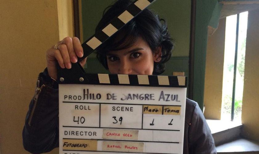 Diana Hoyos protagoniza la serie 'Hilo de sangre azul'