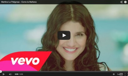 Martina La Peligrosa estrena video de 'Como la mañana'