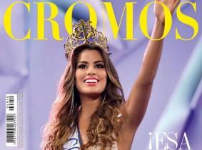La Srta. Colombia 2014 -2015 es portada de la Revista Cromos