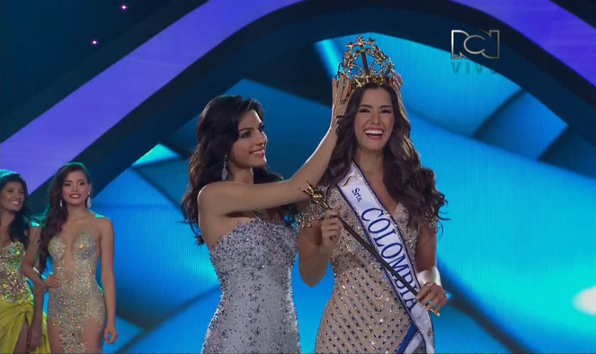 Velada de Coronación de la Srta. Colombia 2014 - 2015