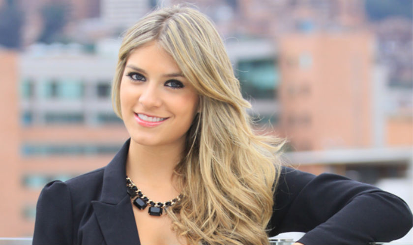 Laura Tobón, embajadora de Mercedes- Benz en Colombia