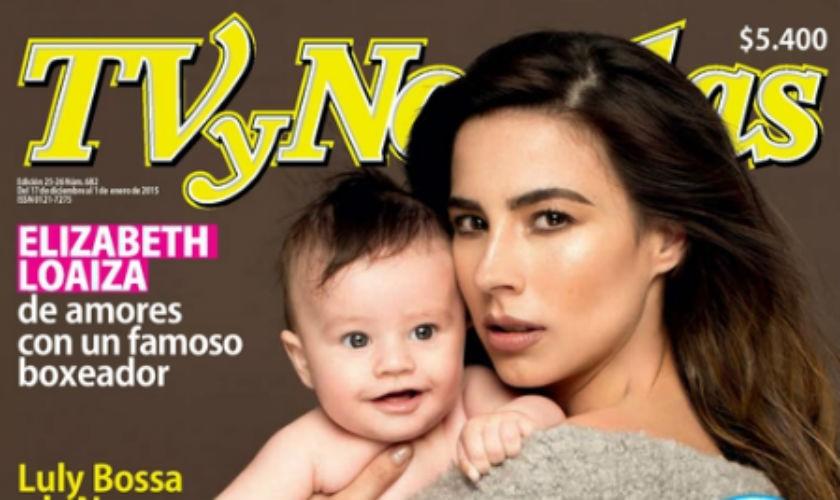 Carla Giraldo y su hijo Adrian portada de TVyNovelas