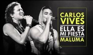 Carlos Vives y Maluma estrenan versión remix de 'Ella es mi fiesta'