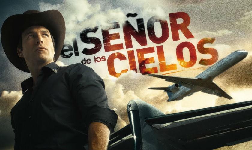 Canal Caracol anuncia estreno de 'El Señor de los Cielos'