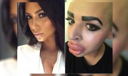 Fan gastó 150 mil dólares para parecerse a Kim Kardashian