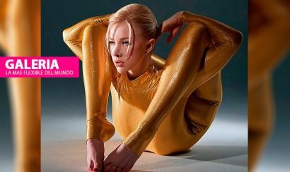 La mujer más flexible del mundo presenta su calendario 2015