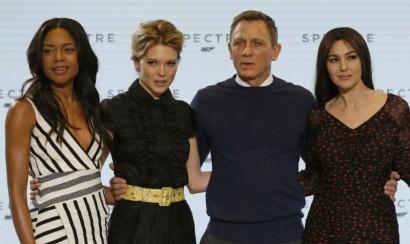 Monica Bellucci y Lea Seydoux son las nuevas chicas Bond