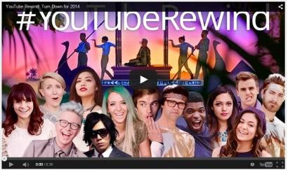 YouTube presenta 'Rewind 2014' con lo mas relevante del año