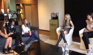 Shakira habló con bloggers de moda sobre su nueva fragancia 'Rock!'
