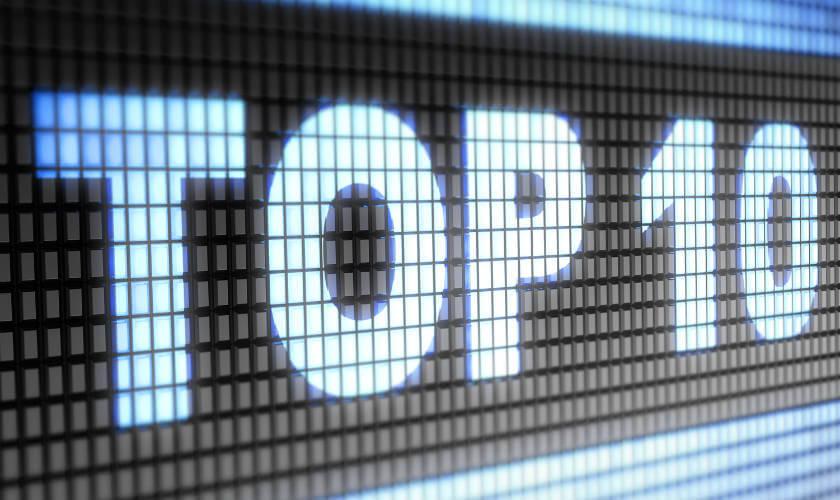 Top 10 de los programas mas vistos del año en Colombia