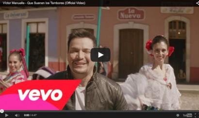 Víctor Manuelle estrena el video de 'Que suenen los tambores'