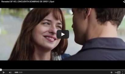 Subtitulado: Comercial para televisión de 50 Sombras de Grey
