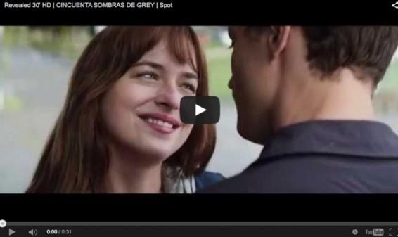 Universal estrenó comercial para televisión de '50 Sombras de Grey'