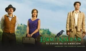 Así se ve la serie Esmeraldas, el color de la ambición del Canal Caracol